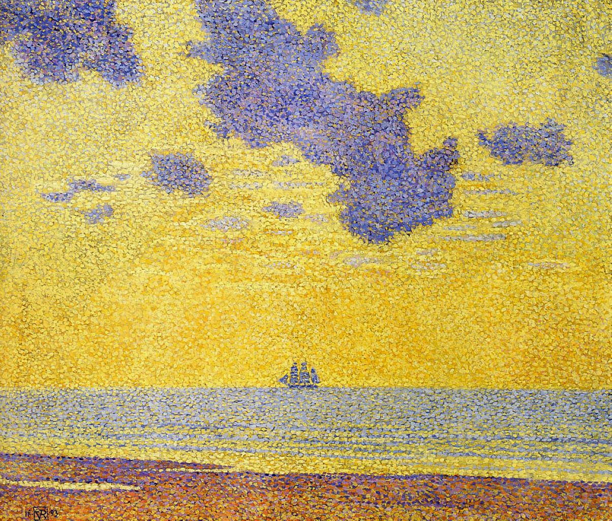 Théo van Rysselberghe Big Clouds, 1893